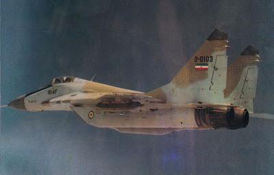MиГ-29 на Иранските ВВС