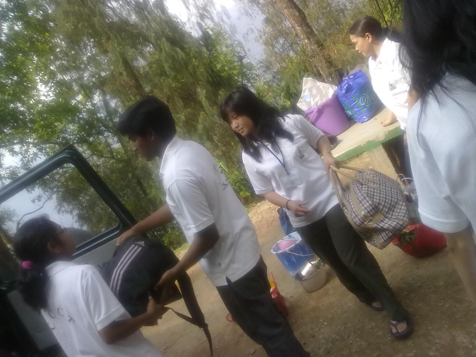 Village Camp At Denchung Junior High School 29th April 1st May