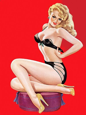 Pin Up Art. Museum of pin-up and those