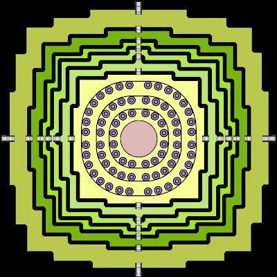 (на схеме - 72 квадрата).