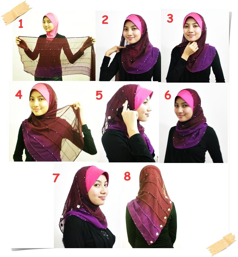 Tutorial Cara Pakai Hijab | newhairstylesformen2014.com