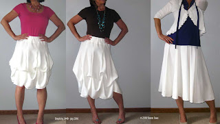 Simplicity 2449 three skirts in one Sharon Sews blog