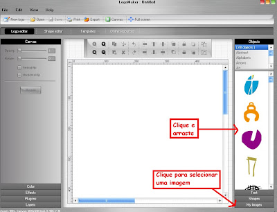 Como Criar Logotipo Grátis para seu Blog ou Fórum com o Logo Maker Logo+editor