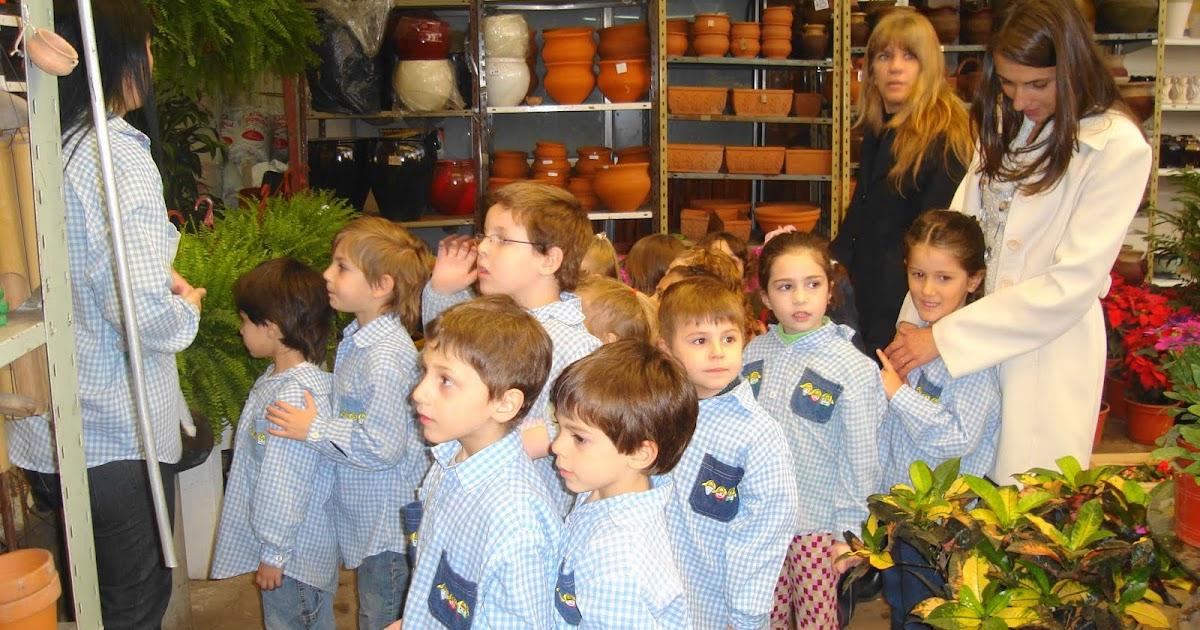 Colegio la obra nivel inicial visita al vivero for Viveros en capital federal