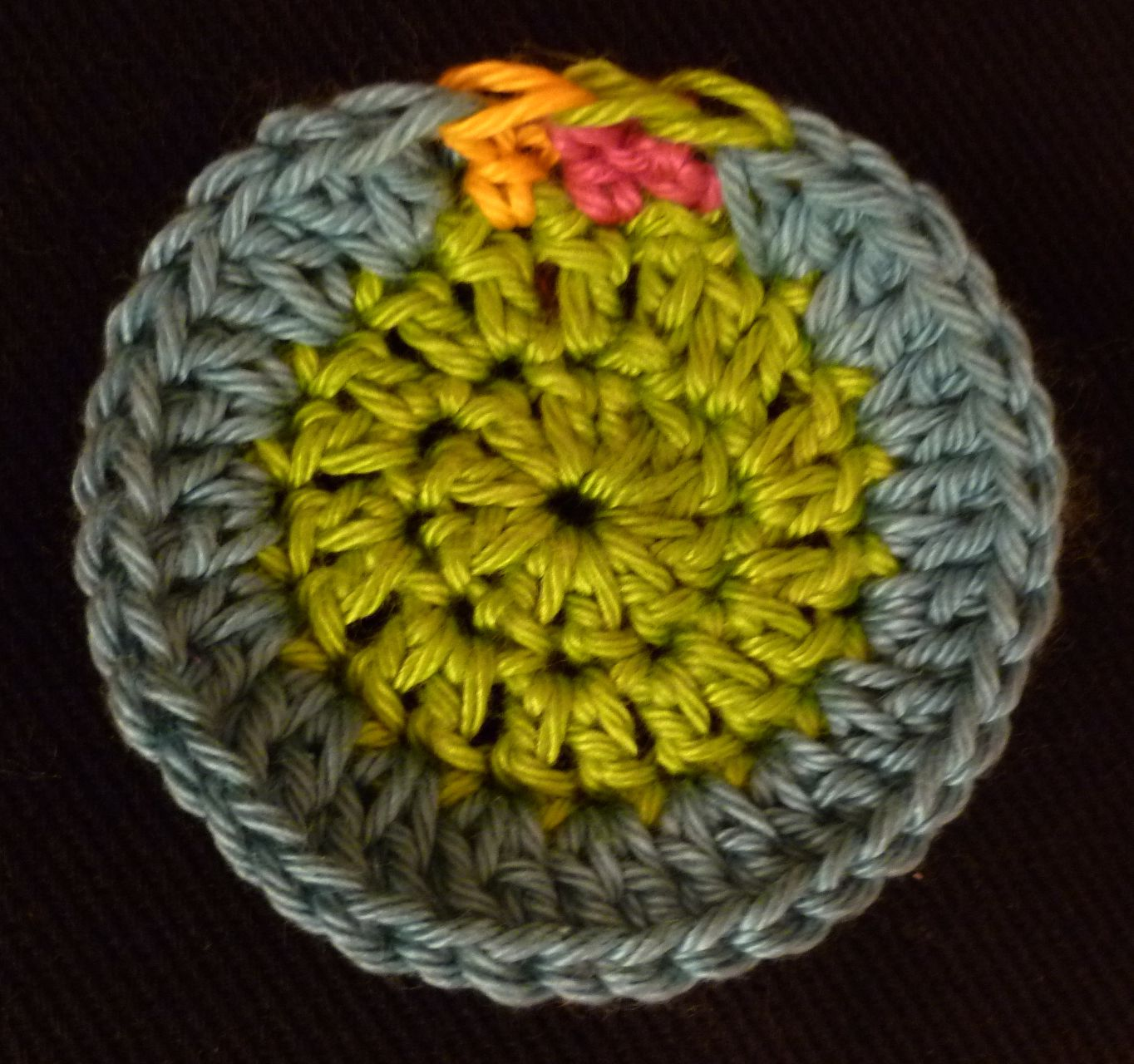 Crochet Fasten Off : ... : The Invisible Fasten Off (one of my favorite crochet techniques