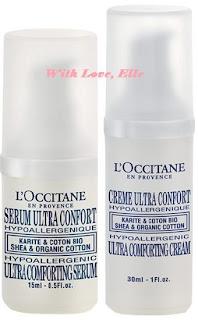 L'Occitane Shea & Organic Cotton Ultra Comforting (Moisturizers)