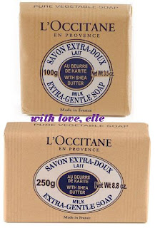 L'Occitane Milk Extra-Gentle Soap w Shea Butter (Soaps)