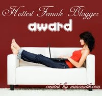 Elle Hottest Female Blogger Award