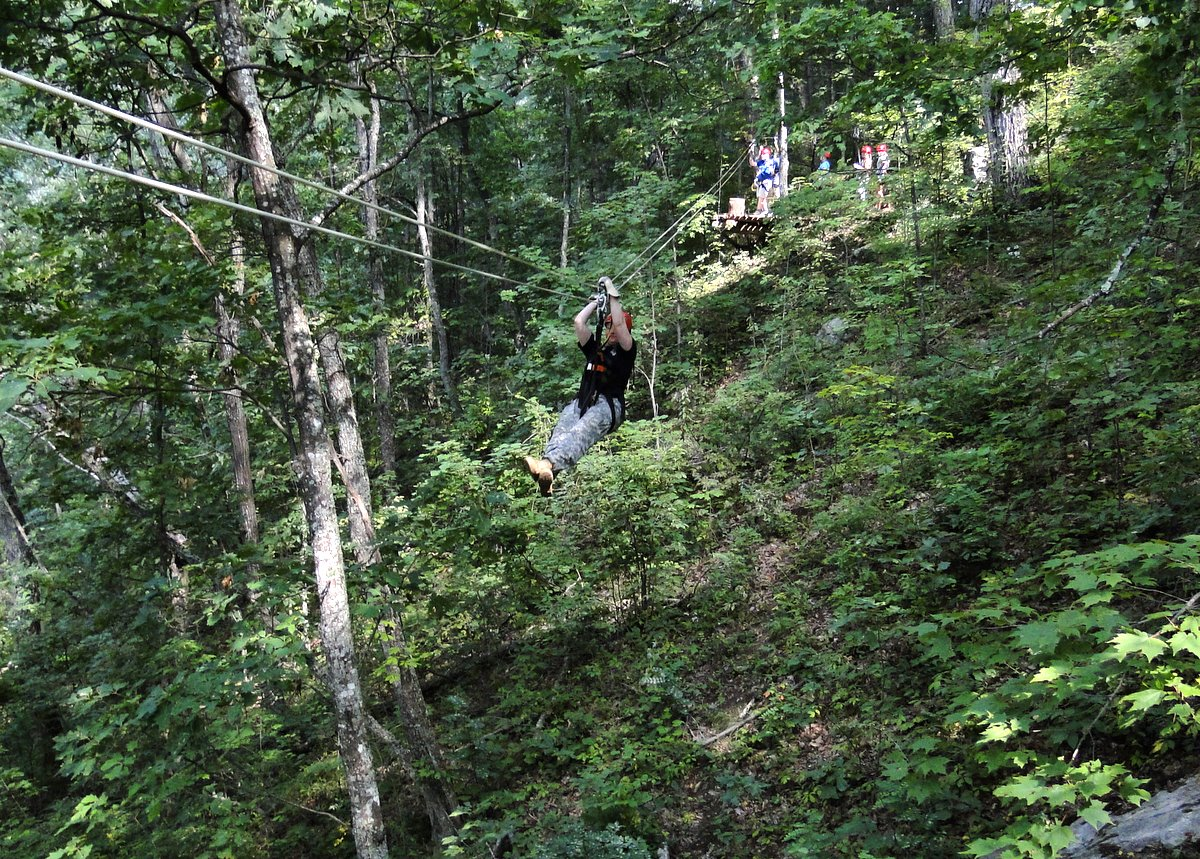 Gatlinburg Cabin Rentals Zip Lines In Gatlinburg Pigeon