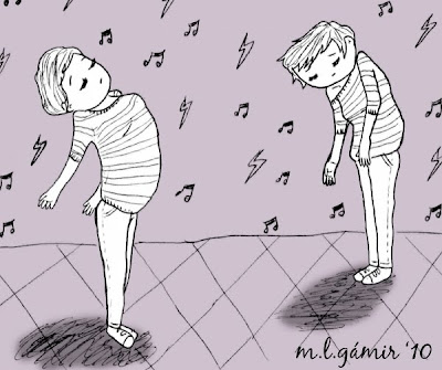 ya se que no bailo bien ¡malditos!