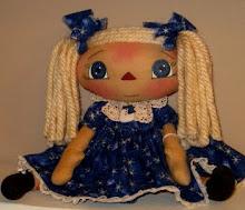 Blue Snowflake Annie