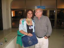 Rauskin, Premio Nacional Paraguayo y Cecilia Palma, La Habana, 2008