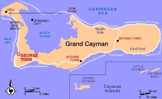 How Many Islands Are Are Part Of The Cayman Islands