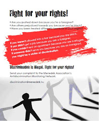 Campaign Against Discrimination In Hungary.. Fight For Your Right