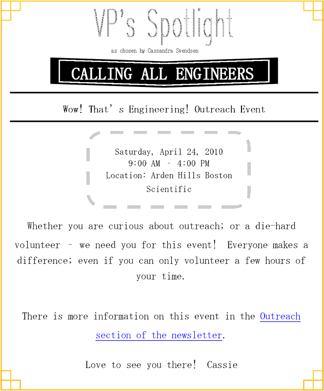 on the picture to go to wow that 39 s engineering event description