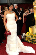 Taraji P. Henson at the Oscars