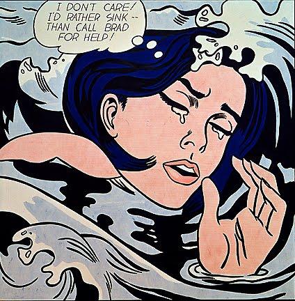 Drowning Girl - Roy Lichtenstein