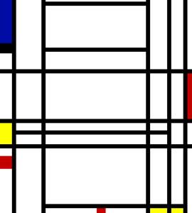 Comp 10 - Piet Mondrian