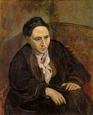 Portrait of Gertrude Stein - Picasso