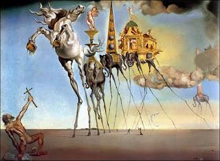 The Temptation of St. Anthony - Dali