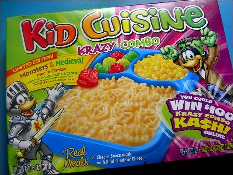 Pop culture junk mail duck penguin who knows for Are kid cuisine meals healthy