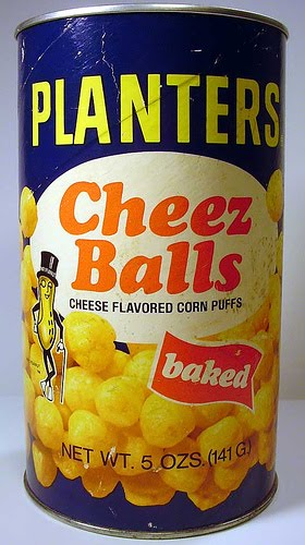 "Who didn't love Planters Cheez Balls? (The ""z"" reminds us these were about"