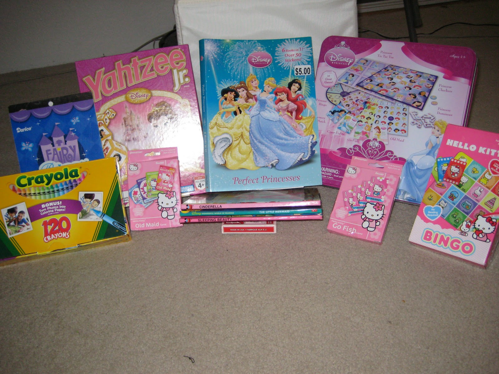 For Babysitting Girls Yahtzee Jr Princess 5 Target Coloring Book Walmart Disney 10 Game Kit 7 Stickers 1
