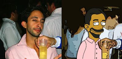 El Turko como un Simpson