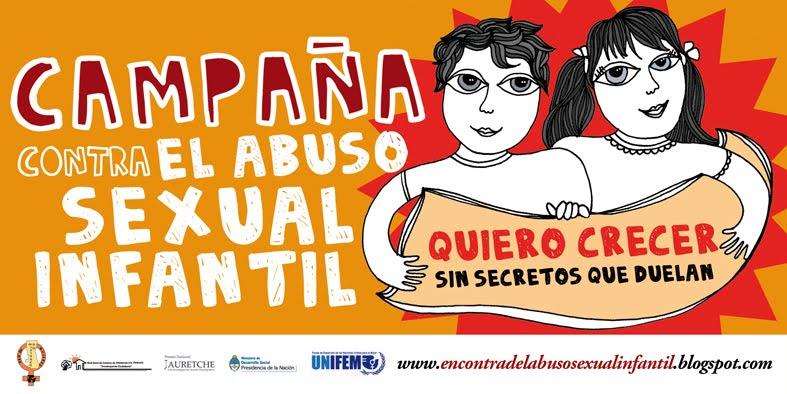 Campaña contra el abuso sexual infantil - Argentina