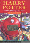 Harry Potter and the Sorcerer's Stone U.K. Cover Art