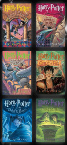The Harry Potter Series by J.K. Rowling
