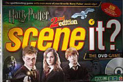 2nd Ed. Harry Potter Scene It Game Box