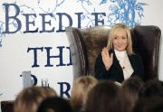 J.K. Rowling at the Beedle the Bard Launch in December 2008