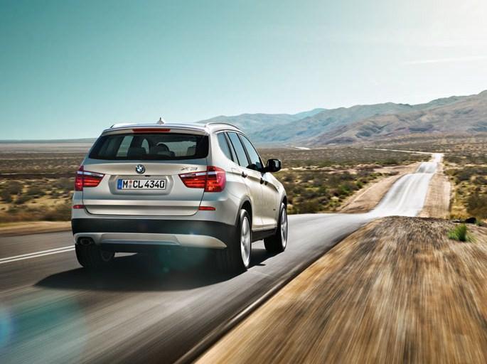 Bmw X5 3.5i. BMW+X3+(F25)+Rear+Side.jpg