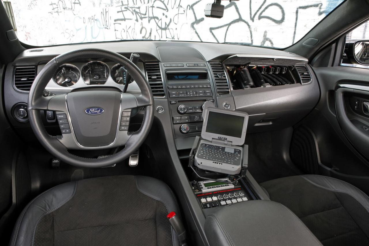 Deliveries of the production Police Interceptor sedan and the Explorer