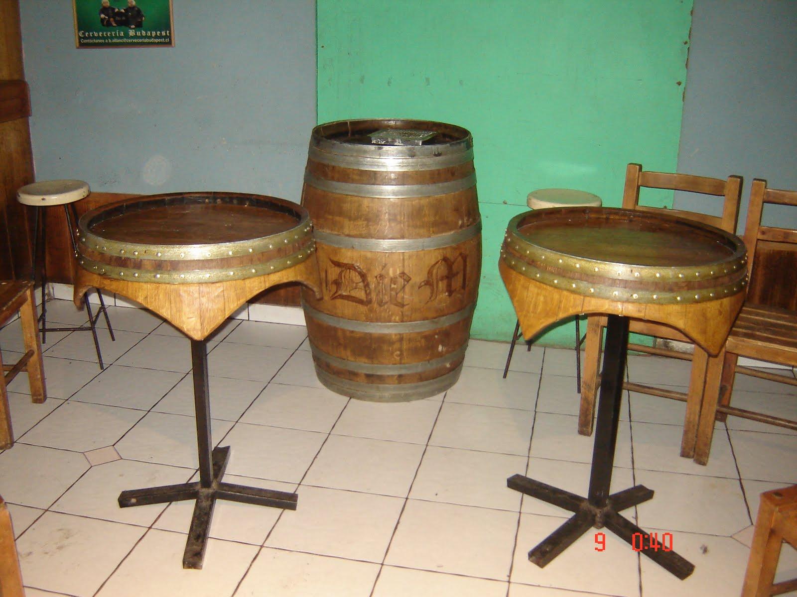 Muebles rusticos buin mesas para bares o restoranes for Mobiliario rustico para bares