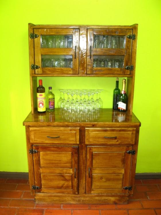 Muebles rusticos buin for Muebles vanitorios rusticos