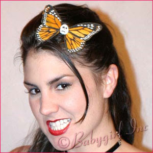 Lucky 11 Rockabilly Hair Accessories ~ Big Yellow