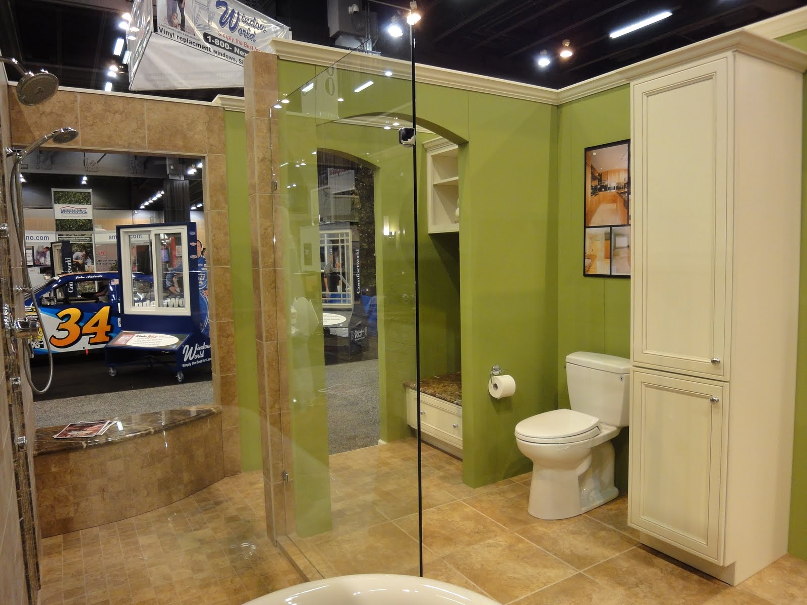 We Were Excited To Unveil Our Newly Expanded Display Booth. It Is Double In  Size, And We Added A Complete Master Bath ... Awesome Ideas