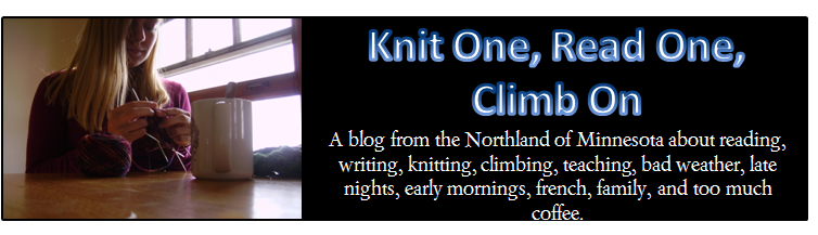 Knit One, Read One, Climb On