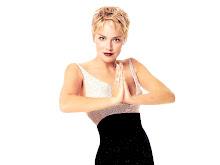 Actrice et président global de collecte de fonds pour l'amfAR, Sharon Stone