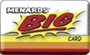 menards big card hsbc