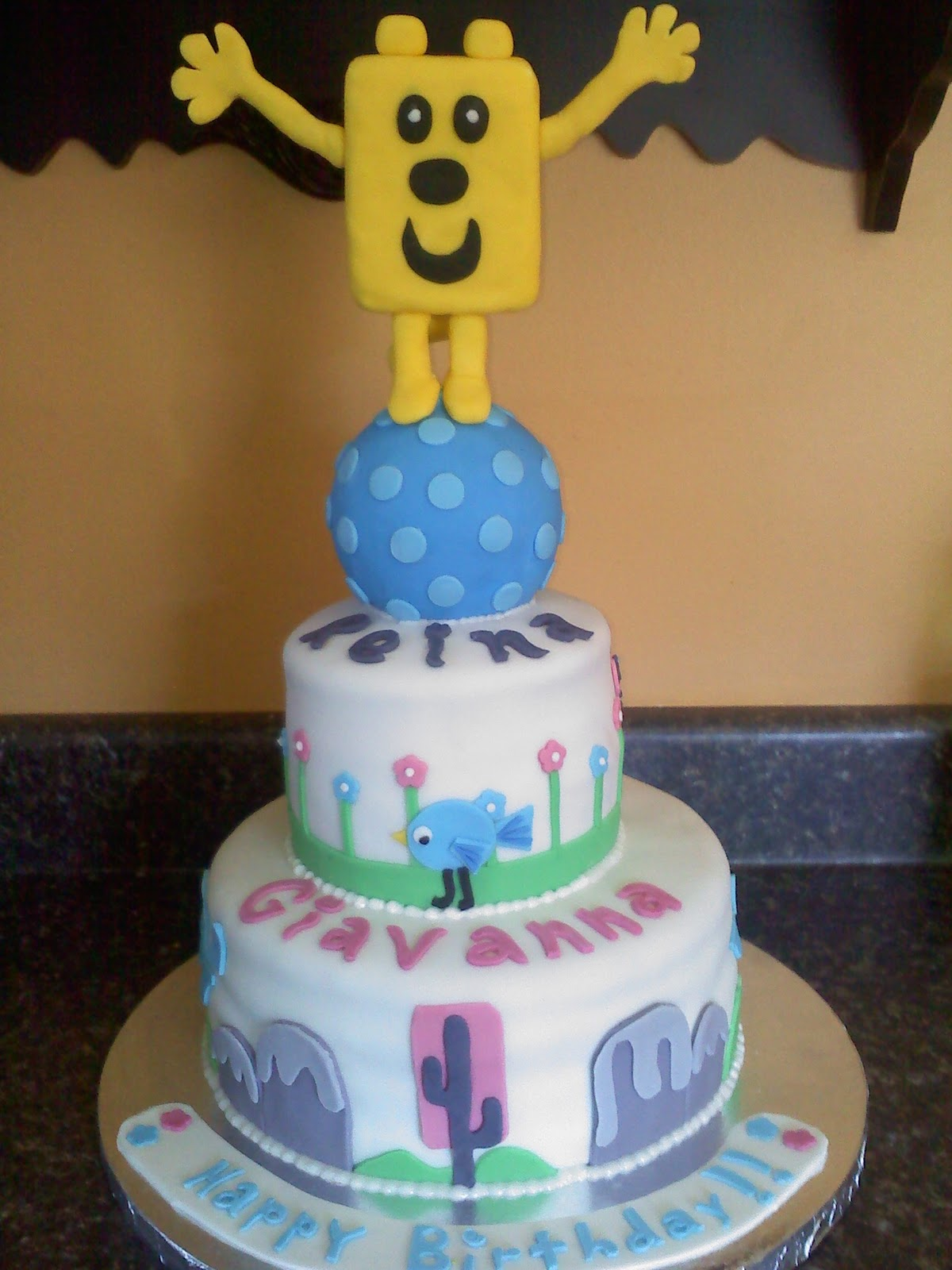 Lick Your Lips Cakes: Wow Wow Wubbzy Cake