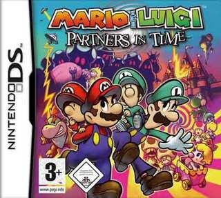 Mario y luigi compañeros en el tiempo Marioluigipp1
