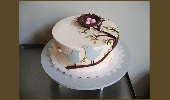 As I See It Birds Nest Cake