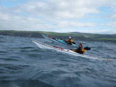 Blog sea kayaking isle of man kayak fishing for Sea fishing kayak