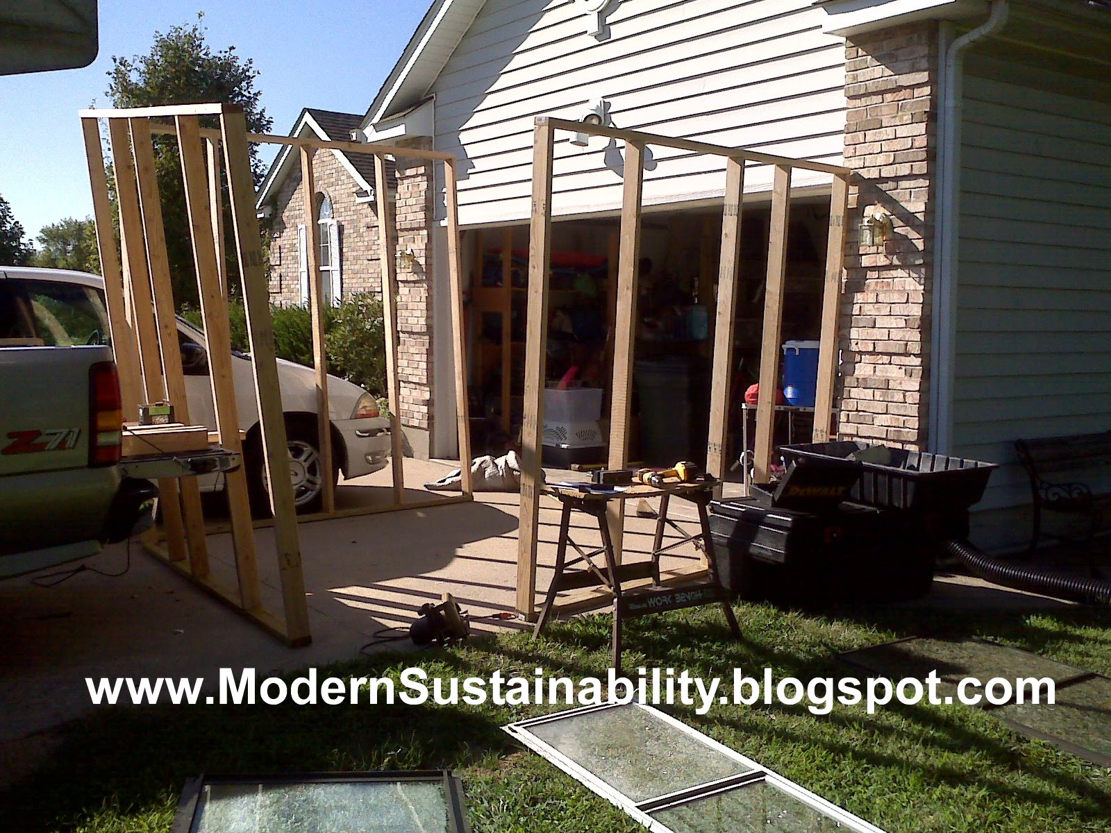 modern sustainability old fashioned methods how to build a tree