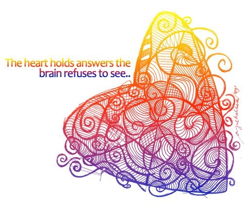 the heart holds answers the brain What's really fascinating is that the heart contains a little brain in its own right yes, the human heart, in addition to its other functions, actually possesses a heart-brain composed of about 40,000 neurons that can sense, feel, learn and remember the heart brain sends messages to the head brain about how the body feels and more.