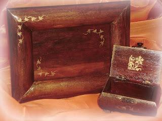 Le cose di lu i tarli cornice e scrigno for Portaritratti legno