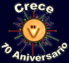 CRECE CUMPLE 10 AÑOS